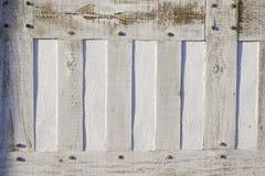 Detalle enmarcado madera de la pared Imagenes de archivo