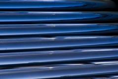 Detalle evacuado solar de los tubos de cristal del calentador de agua Foto de archivo libre de regalías