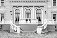 Detalle exterior del edificio neo del renacimiento Imágenes de archivo libres de regalías