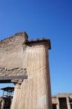 Detalle hermoso de Pompeya Imágenes de archivo libres de regalías