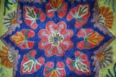 Detalle hermoso de una alfombra en el mercado fotos de archivo libres de regalías