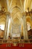 Detalle interior de la catedral de Erice, Sicilia Fotos de archivo