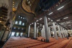 Detalle interior de Sultan Ahmet Mosque, Estambul, Turquía Fotografía de archivo libre de regalías