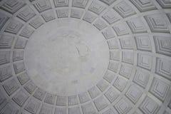 Detalle interior del techo Imágenes de archivo libres de regalías