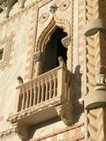 Detalle italiano del edificio imagenes de archivo