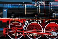 Detalle locomotor Foto de archivo