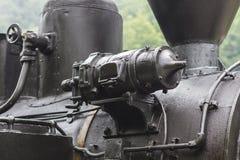 Detalle locomotor de la parte fotos de archivo