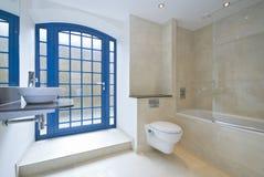 Detalle lujoso del cuarto de baño Foto de archivo libre de regalías