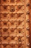 Detalle místico de la puerta Imágenes de archivo libres de regalías