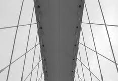 Detalle moderno de la configuración Fondo abstracto de la arquitectura, blanco y negro Fotografía de archivo libre de regalías