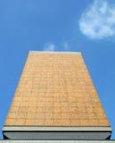 Detalle moderno de la fachada Foto de archivo