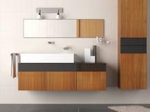 Detalle moderno del cuarto de baño Foto de archivo libre de regalías