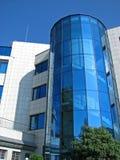 Detalle moderno del edificio de oficinas fotografía de archivo libre de regalías