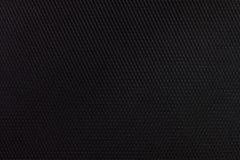 Detalle negro de la textura de la tela fotografía de archivo