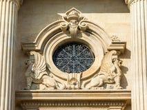 Detalle neoclásico de la arquitectura Foto de archivo libre de regalías