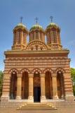 Detalle ortodoxo de la catedral Imágenes de archivo libres de regalías