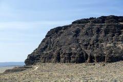 Detalle, parque de estado de la roca del fuerte, Oregon central Imagenes de archivo
