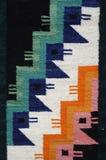 Detalle peruano de la materia textil Fotos de archivo