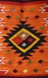 Detalle peruano de la materia textil Fotos de archivo libres de regalías