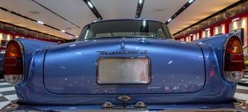 Detalle posterior de Maserati foto de archivo libre de regalías