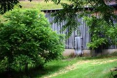 Detalle resistido del granero Imagen de archivo libre de regalías