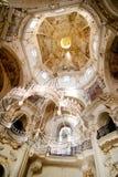 Detalle rococó de la iglesia Imagen de archivo libre de regalías