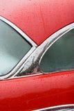 Detalle rojo del coche Fotografía de archivo libre de regalías