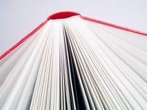 Detalle rojo del libro Fotos de archivo