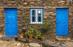 Detalle rural de la casa Imagen de archivo libre de regalías