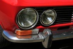 Detalle sportcar italiano Imagen de archivo