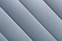 Detalle superficial de plata de las persianas de rodillo Fotos de archivo libres de regalías