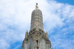 Detalle superior de la pagoda Fotografía de archivo