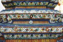 Detalle tailandés tradicional del adorno Imágenes de archivo libres de regalías
