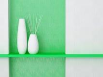 Detalle tirado de la pared moderna de la sala de estar. libre illustration