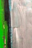Detalle verde de la pintura Imágenes de archivo libres de regalías