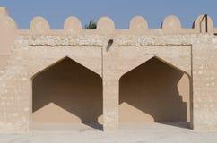 Detalles árabes de la fortaleza Fotografía de archivo libre de regalías