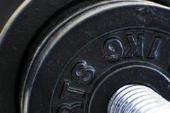 Detalles 2 del Barbell Imagen de archivo libre de regalías
