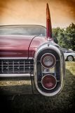 Detalles americanos clásicos del coche Imagenes de archivo