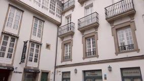 Detalles arquitectónicos de edificios viejos metrajes