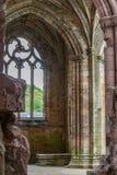 Detalles arquitectónicos de la abadía de la colada Fotos de archivo libres de regalías
