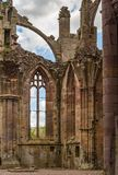 Detalles arquitectónicos de la abadía de la colada Fotografía de archivo