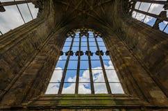 Detalles arquitectónicos de la abadía de la colada Imágenes de archivo libres de regalías