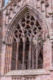 Detalles arquitectónicos de la abadía de la colada Imagen de archivo