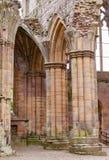 Detalles arquitectónicos de la abadía de la colada Foto de archivo