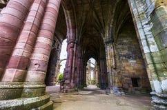 Detalles arquitectónicos de la abadía de la colada Fotos de archivo