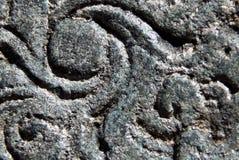 Detalles arquitectónicos de las tallas de piedra en templo hindú antiguo Fotografía de archivo