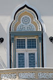 Detalles arquitectónicos de una ventana vieja imágenes de archivo libres de regalías