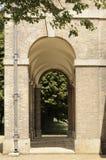 Detalles arquitectónicos del edificio Fotografía de archivo