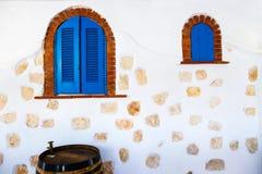 Detalles arquitectónicos del estilo griego Fotografía de archivo libre de regalías