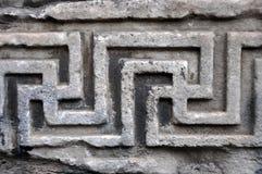 Detalles arquitectónicos romanos antiguos Fotos de archivo libres de regalías